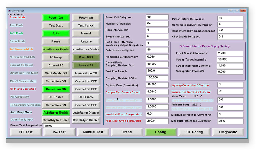 configuration-semiconductor-test-software